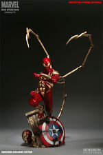 Sideshow Exclusive IRON SPIDER-MAN Comiquette Statue #388/750 Marvel Civil War