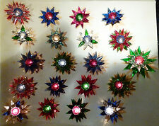 *** 20 Old Matchless Star Xmas Lights - Original around 1930 *** working