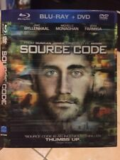 Source Code Best Buy Exclusive Blu Ray Disc Lenticular Slipcover ONLY. RARE OOP