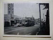 "USA912 - 1940s PHILADELPHIA SUBURBAN TRANSIT Co ""RED ARROW"" TRAM No1 Photo USA"