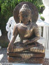 Buddha 31 kg 55 cm groß Steinfigur Feng Shui Statue Japanischer Garten neu
