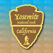 "Yosemite National Park California Arrowhead 5"" Hike Custom Vinyl Decal Sticker"