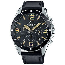 Casio Edifice EFR-553L-1B Screw Lock Back Watch Brand New