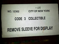 Code 3 City of New York Fire Department Seagrave Fire Truck 46 Case #12302  c3