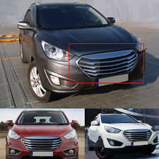 Chrome Silver Front Hood Radiator Grille Grill For HYUNDAI 2010-2013 Tucson ix35