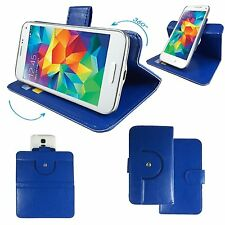 Amigoo X10  - PU Mobile Cover Case - 360 Blue XL
