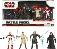 "Star Wars 3.75"" Battle Pack Asst Legacy Collection - Duel on Mustafar Emperor"