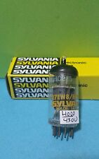 "1  ""Mullard"" Sylvania 17EW8  HCC85 Vacuum Tube Tested Good  on Calibrated Hickok"