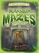 The Mansion of Mazes (Math Quest)-ExLibrary