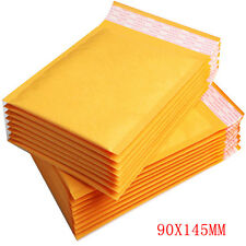 100 Small Gold Padded MAIL Cheap Brown Yellow Postage Bag Bubble Lined Envelopes