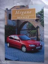 Renault Megane 1.4, 1.4eco, 1.6, 1.9D, 1.9TD Prospekt / Brochure, Polen