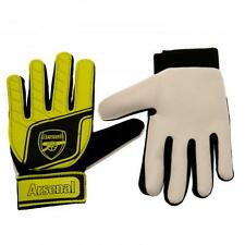 Official Licensed Product Arsenal Goalkeeper Gloves Fluo Kids 7 / 9 Years Gift