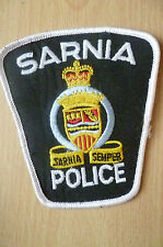 Patches: SARNIA SEMPER CANADA POLICE PATCH (NEW* apx. 11.5x10 cm)