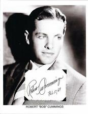 Robert Cummings Autograph Dial M for Murder The Devil and Miss Jones Saboteur #4