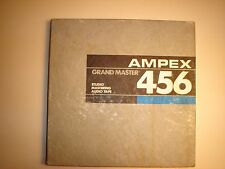 Ampex Grand Master 456 Reel to Reel Studio Mastering Audio Tape.