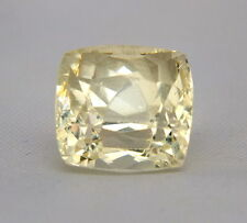 TOP HIDDENITE : 12,76 Ct Natürlicher Gelber Hiddenit ( Yellow Kunzite )
