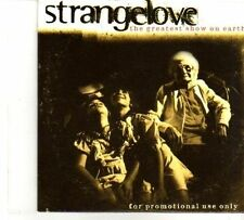 (DR164) Strangelove, The Greatest Show On Earth - 1997 DJ CD