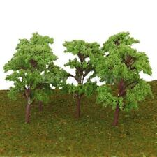 10x 11cm Model Trees for Architecture Train Railway Wargame Diorama Scene Layout