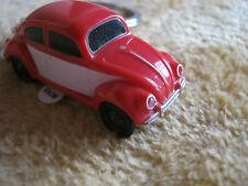Keychain vw beetle avec lumière led volkswagen, 1:87 rouge