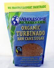 Wholesome Sweeteners Organic Turbinado Raw Cane Sugar, 24 oz / 1.5 lb