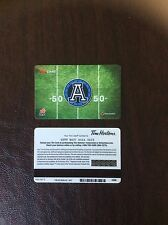 Tim Hortons 2014 Argo Collector Gift Card Mint Condition.