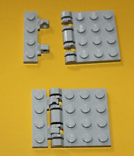 lego star wars light bluish gray vertically opening roof 4 parts in total