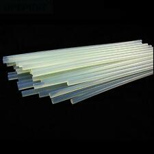 NewPractical 7mm*110cmClear Hot Melt Glue Adhesive Sticks For Heating Glue Gun ~