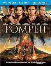Pompeii (Blu-ray Disc, 2014, w/Digital; 3D/2D) new/sealed - no slipcovers