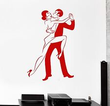 Wall Sticker Vinyl Decal Tango Dancers Dance Passion Wedding (ig1263)