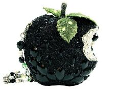 Mary Frances Wicked Black Apple Crystal Green Bag Purse Handbag NEW Fairy Tale