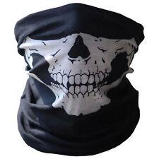 Skull Design Motorcycle Biker Hood Snood Neck Warm Ski Face Mask Neck Tube Scarf
