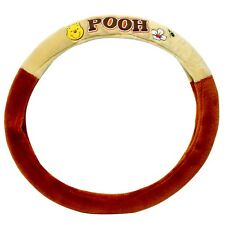 Disney Winnie the Pooh Soft Doll Car Accessories Steering Wheel Seat Cover Horn