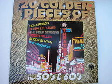 Various - 20 Golden Pieces Of The 50's & 60's LP, UK pr