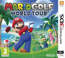 Mario Golf World Tour Nintendo 3DS 2014  MINT
