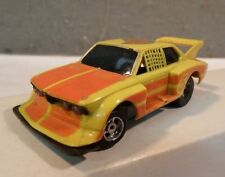 AURORA SpeedSteer Chassis SLOT CAR HO SCALE SLOTLESS #5 REAR HIGH WING LIGHTED