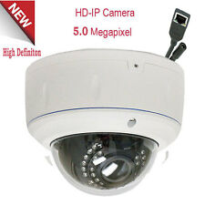 5MP 1080P Outdoor PoE ONVIF Security High Definition IP Camera NVR System Dome