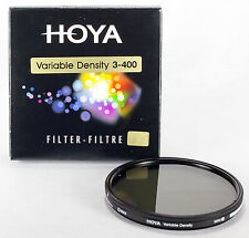 Hoya 52mm Variable Neutral Density ND3-ND400 ND DSLR Digital Filter A-52VDY