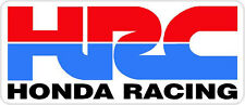 "#581 6"" HONDA Racing HRC superbike motorcycle decal sticker vinyl CBR CBX"