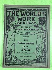 THE WORLD'S WORK & PLAY - Edwardian Shilling Monthly - July 1905 - Henry Norman