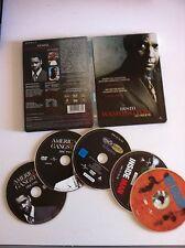 DENZEL WASHINGTON COLLECTION - 5 DVD (SPANISH EDITION RARE) - STEELBOOK