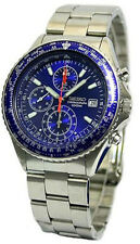 SEIKO MEN CHRONOGRAPH 100M STEEL WATCH SND255 SND255P1