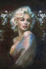MARILYN MONROE COLOR PORTRAIT POSTER rolled and shrink wrapped 24x36