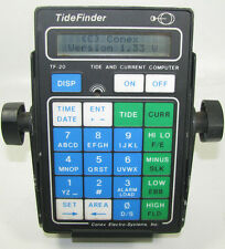 Tide Finder TF-20 Conex Electro-Systems Tide & Current Computer w/ Bracket