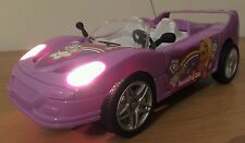 FERRARI CONVERTIBLE GIRLS Radio Remote Control Car  FAST SPEED - PINK / LILAC