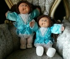 """TWINS 1985 CABBAGE PATCH KIDS 16"""" doll - COLECO - SO CUTE!"""