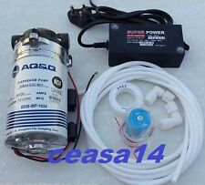 RO AQ&Q BOOSTER PUMP FOR KENT/REVIVA,WHIRLPOOL,DOLPHIN WATER FILTER/PURIFIERS