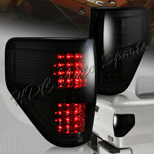 For 2009-2014 Ford F150 Pickup Trucks LED Chrome Housing Smoke Lens Tail Lights