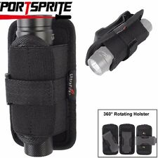 Belt Clip Holster Bag for Surefire Fenix Inforce 6VX 6VT 9VX Tactical Flashlight