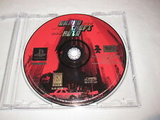 Grand Theft Auto (PlayStation PS1) Original Release Game CD in Plain Case Nice~