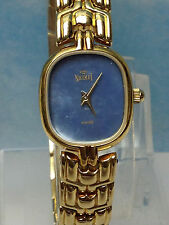 NICOLET SWISS  MOTHER OF PEARL  GOLD BRACELET  WOMENS  WATCH  NEW OLD STOCK